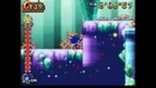 Sonic Rush Adventure Nintendo DS Gameplay - Coral