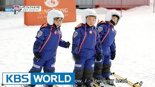 The Return of Superman - Triplets Try Skiing