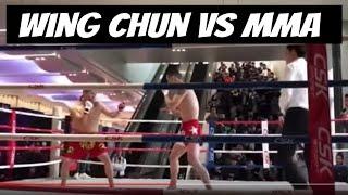 Baixar MMA vs Wing Chun - Xu Xiaodong's Friend Uses Only Left Side vs Wing Chun Master