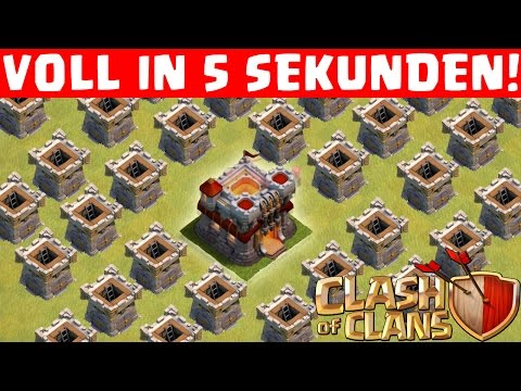 CLAN VOLL IN 5 SEKUNDN! || CLASH OF CLANS || Let's Play CoC [Deutsch/German HD+]