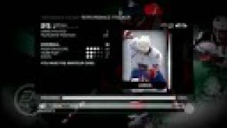 NHL 09 Be A Pro Producer Video