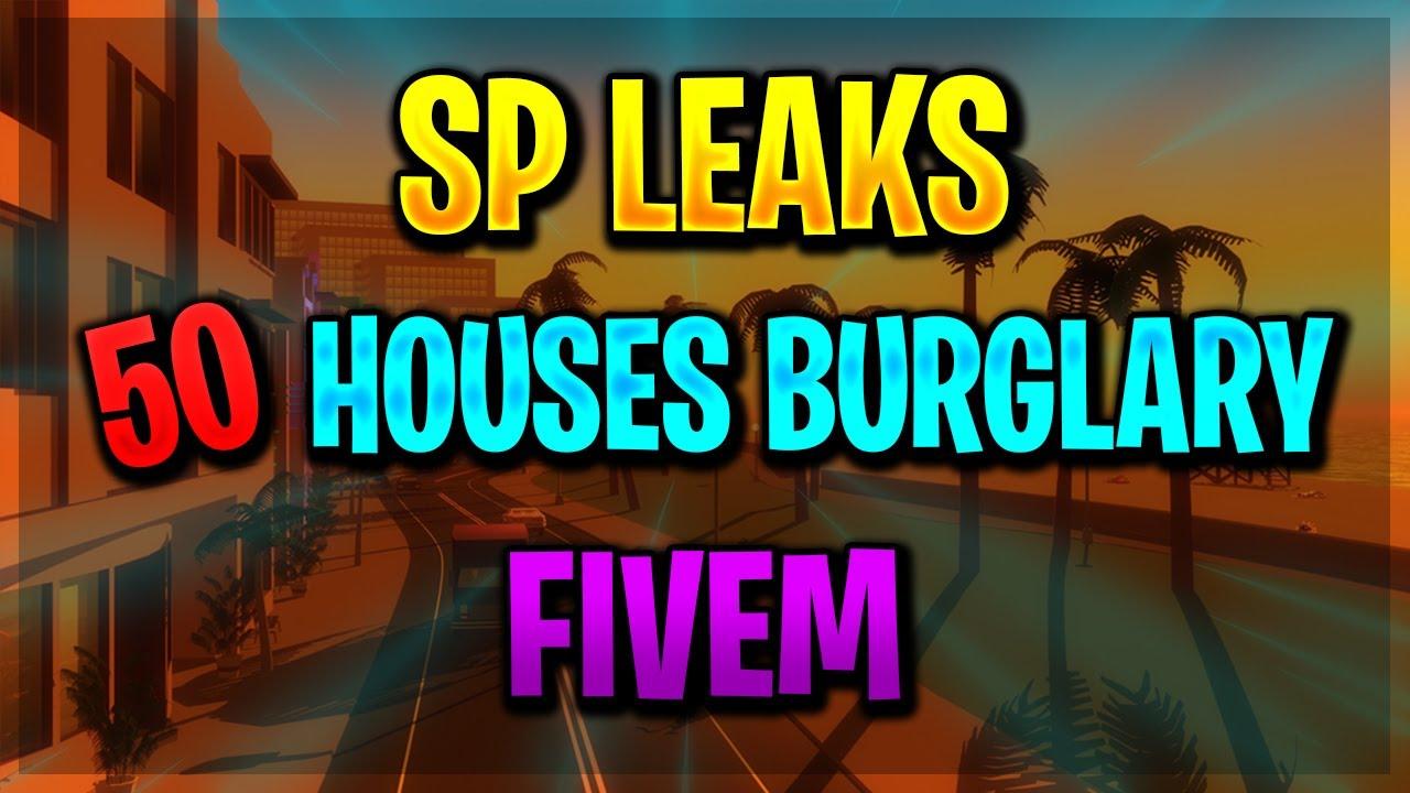 [ESX] 50 Houses Burglary | Script FiveM | SP