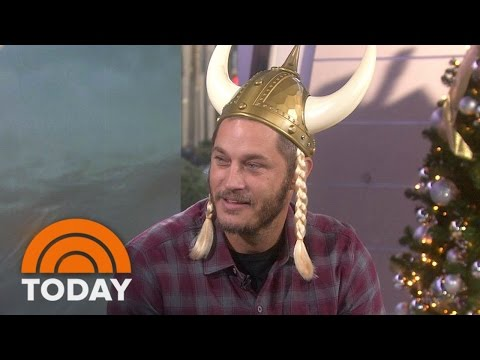 Travis Fimmel: Beards Are Too Hipster For Me Unless I'm On 'Vikings' Set | TODAY