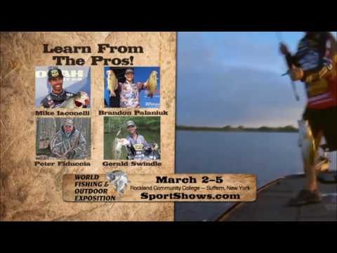 2017 World Fishing & Outdoor Expo in Suffern NY March 2-5