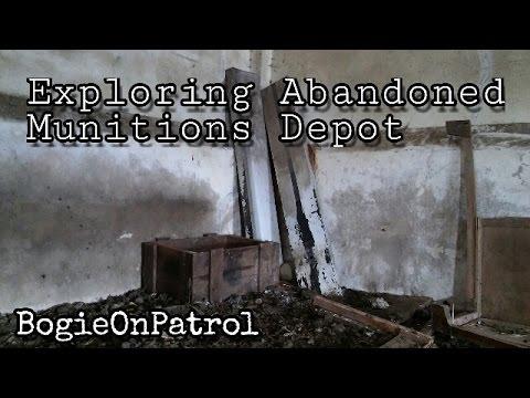 Exploring Abandoned Munitions Depot, Bandeath