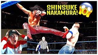 NON WWE FAN REACTS TO SHINSUKE NAKAMURA!