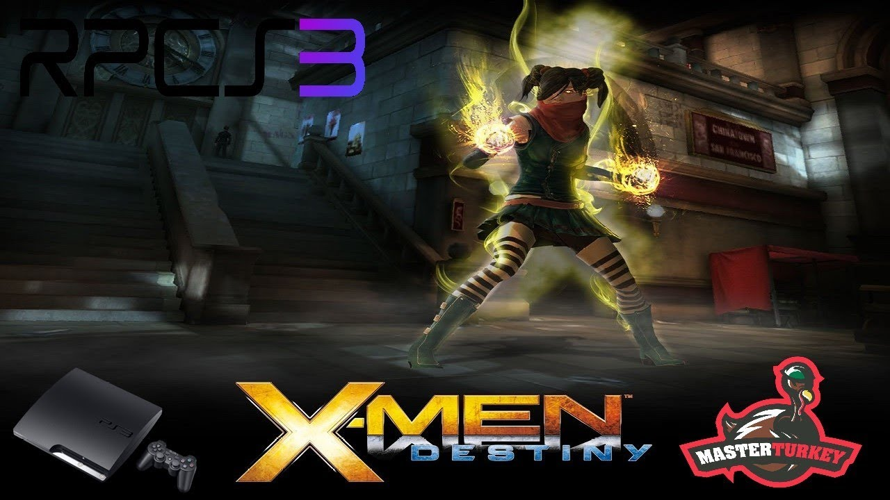 X-Men: Destiny - RPCS3 TEST (InGame/Freezes)