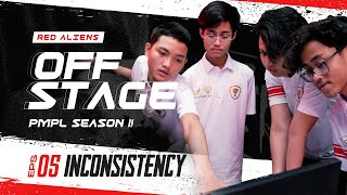 RED ALIENS KETINGGALAN POINT DI AWAL PMPL SEA - OFF STAGE PMPL Season II Episode 5