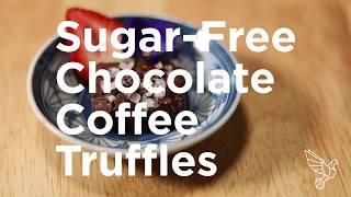 Sugar-Free Chocolate Coffee Truffles