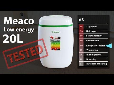 Meaco 20 L Low Energy Economical Dehumidifier Review