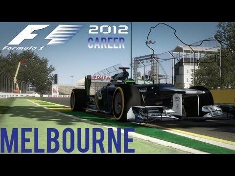 F1 2012 - Legendary Career Mode; Australia 15 Lap Commentary - Episode 3