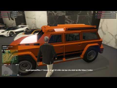 GTA 5 Online - Mình mua thêm nhiều Siêu xe quân sự mới =))