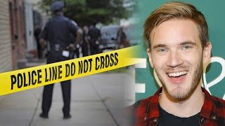YouTuber Sees MURDER While Streaming, PewDiePie Calls Out Comments, TmarTn's Back, Joey Salads