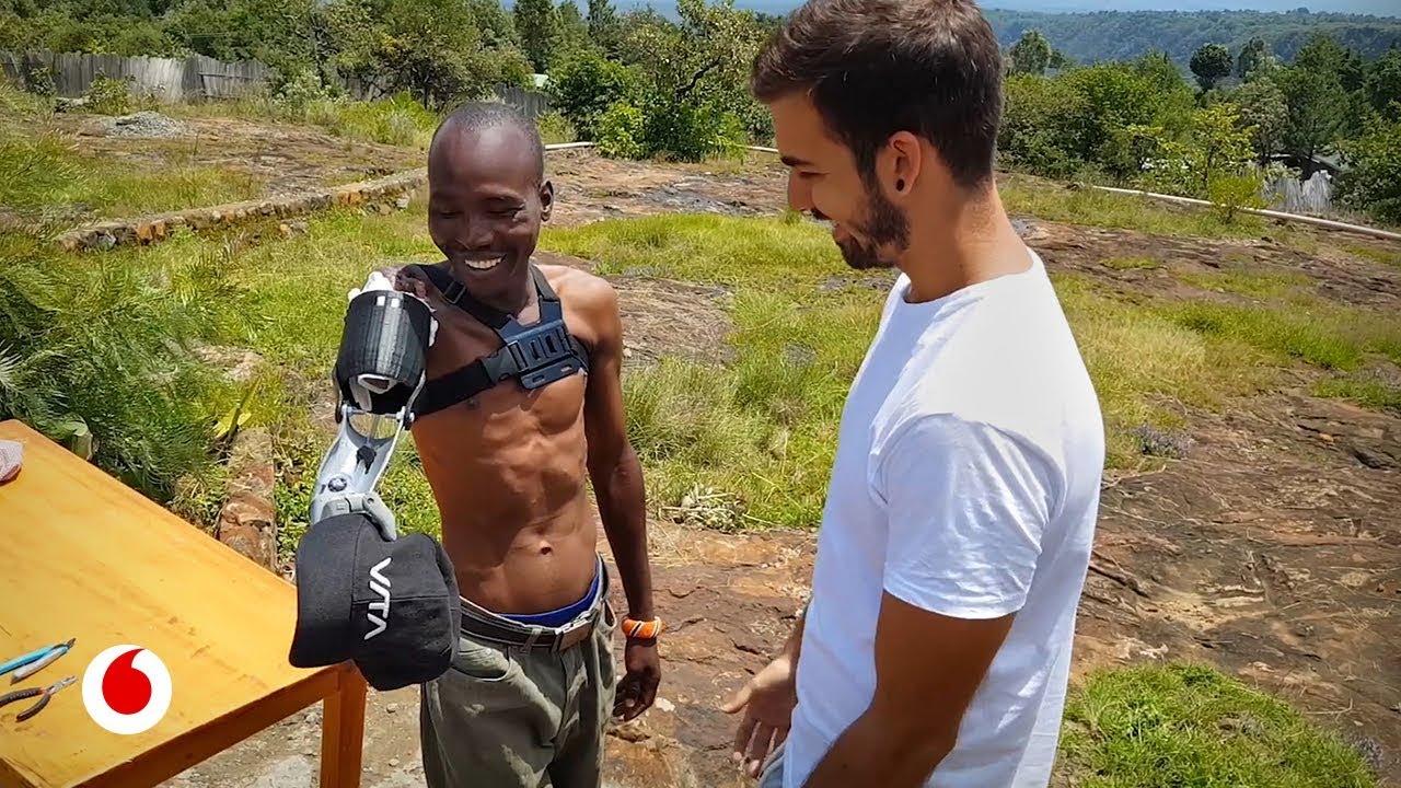 Prótesis impresas en 3D para personas de países sin recursos