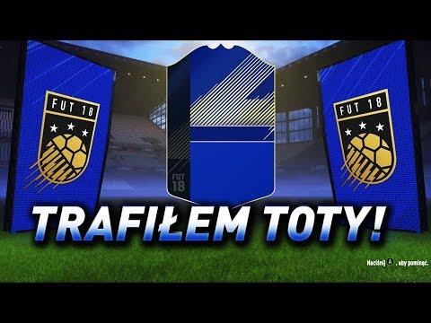FIFA 18 - Trafiłem potężną kartę TOTY! - 19X Walkout + 140.000 FIFA Points!