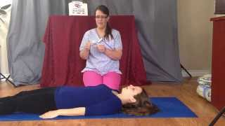 How to use a CPR barrier and face shield