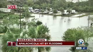 Hurricane Michael: Apalachicola hit by flooding