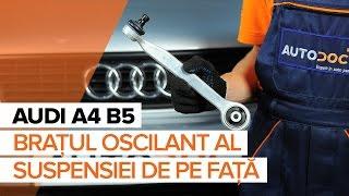 Cum se inlocuiesc braţul oscilant al suspensiei de pe faţă pe AUDI A4 B5 [TUTORIAL]