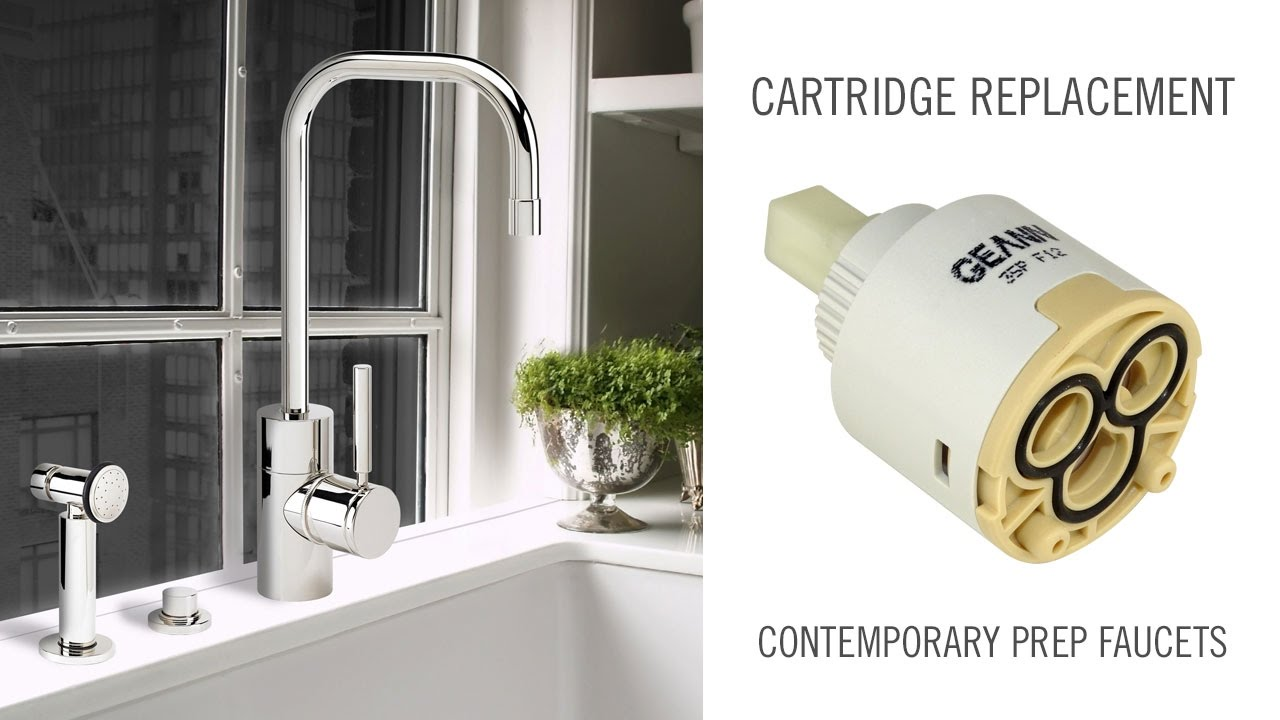 Cartridge Replacement On Contemporary Waterstone Prep Faucets