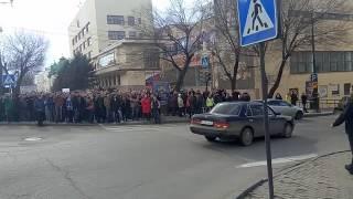 Встреча двух митингов в Хабаровске