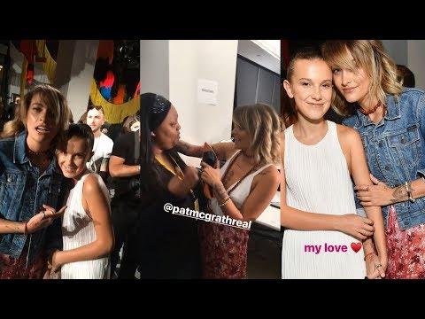 Paris Jackson  Snapchat Story  7 September  w Millie Bobby Brown