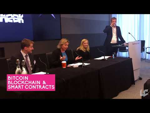 Norton Rose Fulbright's Victoria Birch speaking at Bitcoin, Blockchain and Smart Contracts