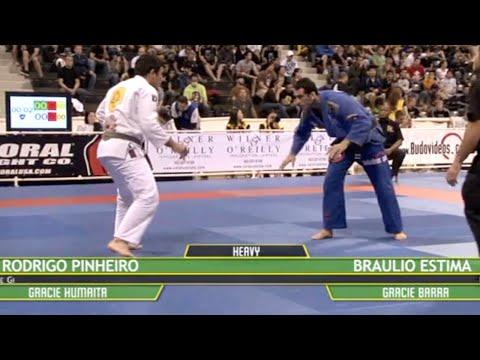 Braulio Estima VS Rodrigo Pinheiro / World Championship 2009