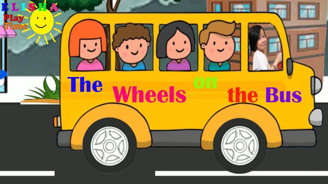Wheels on the Bus - Nursery Rhymes and Kids Songs - Kids favorite Song