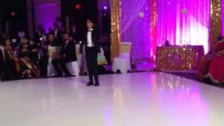 Indian Sangeet Wedding Dance