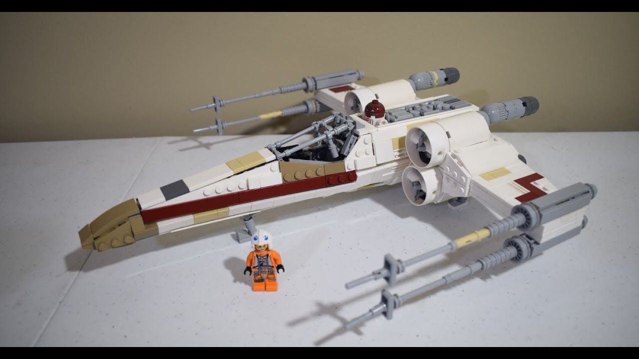 the best lego x wing moc review youtube