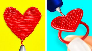 3D PEN CRAFTS || Funny Hacks And Easy DIY Ideas Back to School by 123 GO! SCHOOL