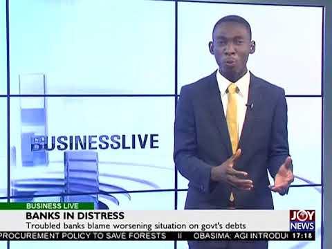 Bank in distress - Business Live on JoyNews (23-8-17)