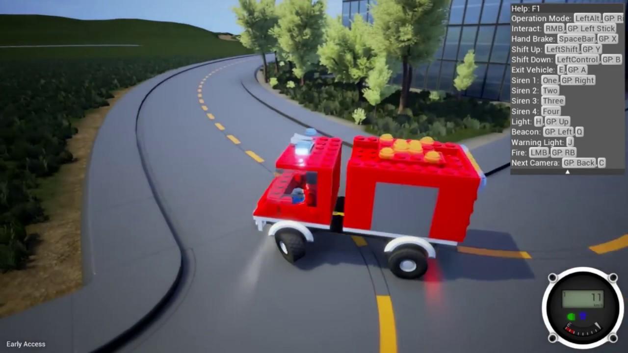 Lego Feuerwehr Spiele Kostenlos