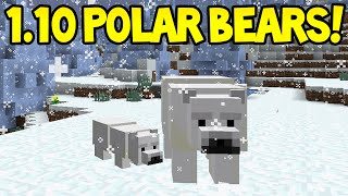Minecraft 1.10 Update! - NEW POLAR BEARS! Confirmed!