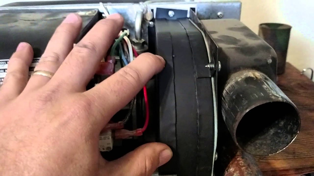 Suburban sf 42 furnace blower motor replacement youtube for How to install a blower motor in a furnace