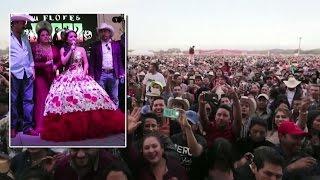 Thousands Attend Girl