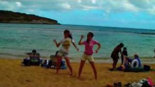 ハワイに来たついでに踊ってみました (^σ^)/* ハートキャッチプリキュア...