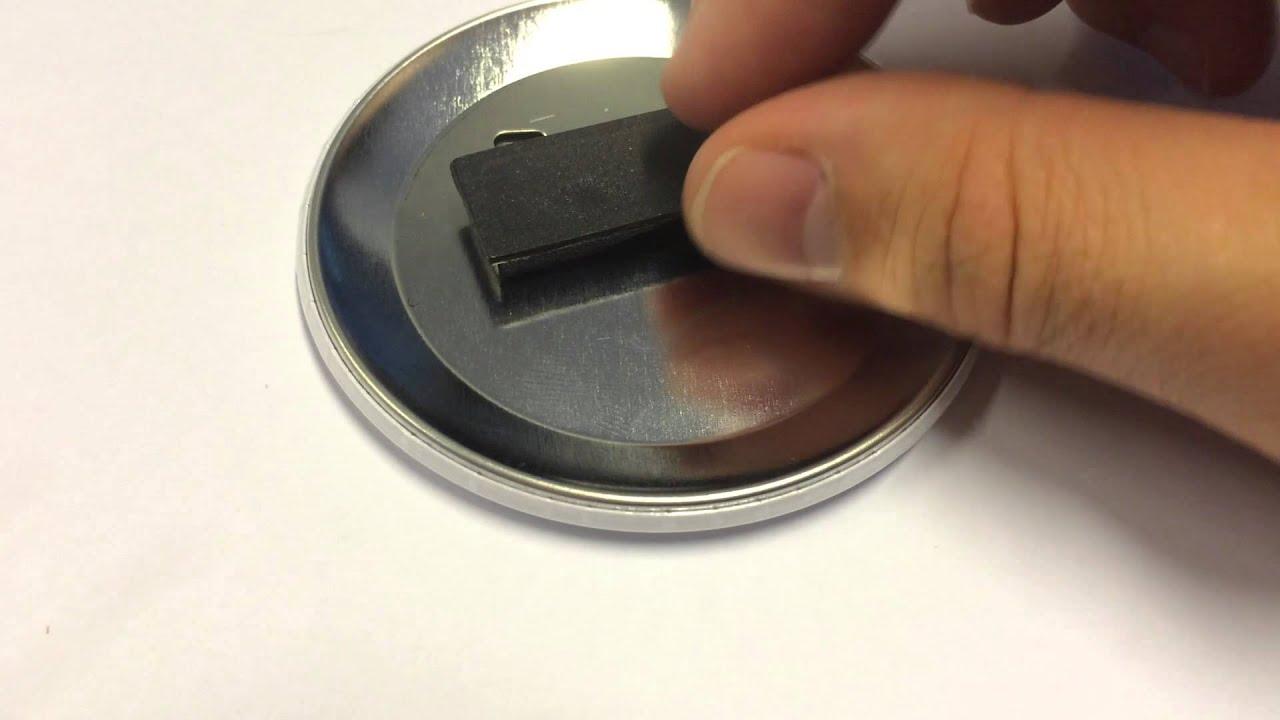 Navneskilte med magneter 56mm