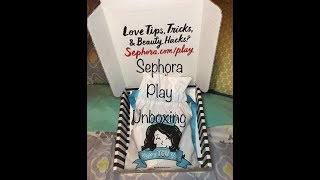 PLAY! BY SEPHORA UNBOXING JAN 2018