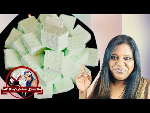 Marshmallow | மார்ஷ்மெல்லோ | How To Make Marshmallow Without Corn Syrup