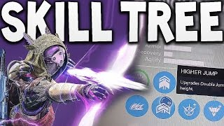 Destiny - HUNTER NIGHTSTALKER SUBCLASS SKILL TREE !