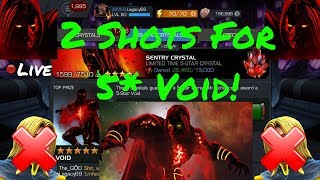 2 Shots For 5* Void! Live! - Marvel Contest Of Champions