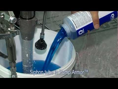 Tutorial: how to clean and maintain your paint sprayer after the job with AutoClean™ and Pump Armor™