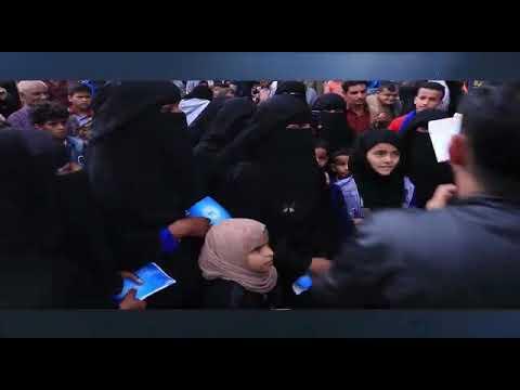 المهرجان الرمضاني التوعوي حول مخاطر الكوليرا في المولات التجارية بمحافظة إب