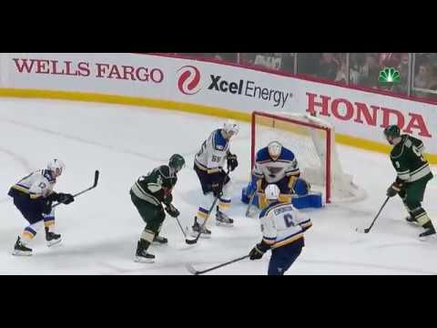 Minnesota Wild Vs St. Louis Blues Game 5 2017 Playoffs