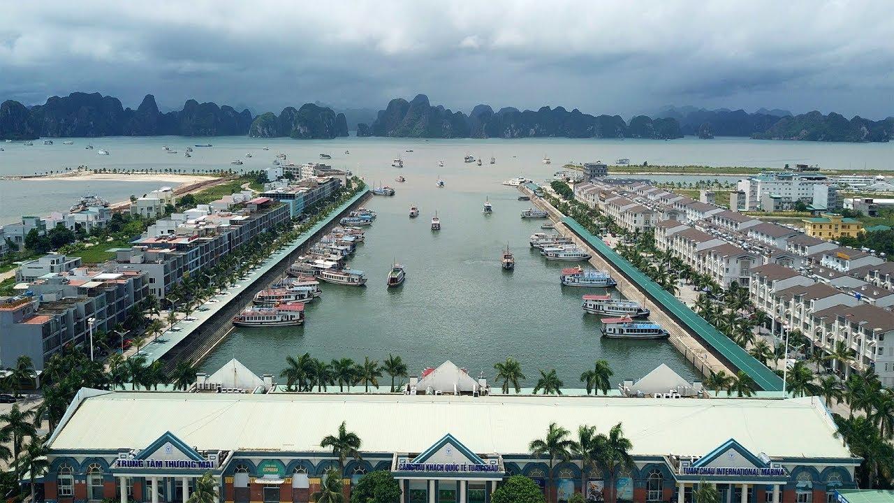Cảng quốc tế Tuần Châu Quảng Ninh  ▶ du lịch vịnh Hạ Long Đảo Tuần Châu Quảng Ninh