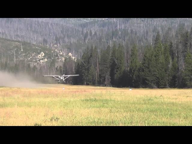 Chamberlain Basin airstrip, Idaho