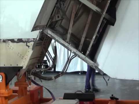 Reparación única en Sudamérica por técnicos de Aerolíneas Argentinas en un Airbus 330