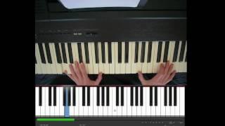 Sinterklaas, Daar wordt aan de deur geklopt, piano
