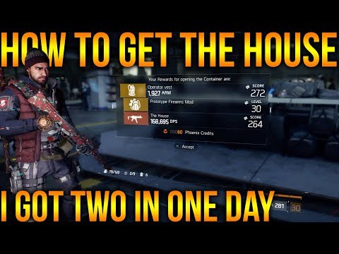 THE DIVISION 1.8 | HOW TO GET THE HOUSE | THE BEST WEAPON IN THE GAME